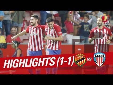 Resumen de Gimnàstic de Tarragona vs CD Lugo (1-1)