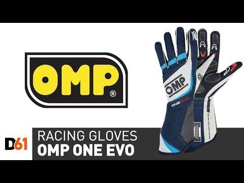 OMP One Evo Racing Gloves: Racewear Information
