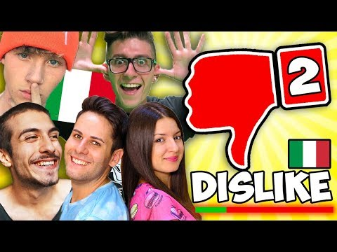 I VIDEO CON PIÚ DISLIKE di YOUTUBE ITALIA #2