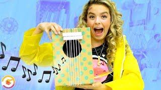 Rainy Day DIY! Building Musical Instruments | GoldieBlox