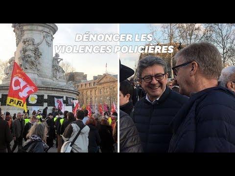 Les Images Du Rassemblement En Soutien à Geneviève Legay à Paris