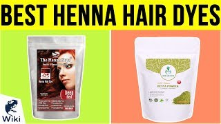 10 Best Henna Hair Dyes 2019