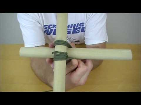 Knot of the Week - Square Lashing