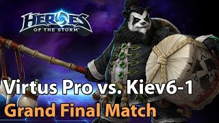 ► EPIC Heroes of the Storm Pro Gameplay: Virtus Pro vs. Kiev5 - Grand Final