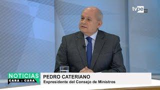 Audios desnudan a magistrados que prestaban servicio político, refiere Cateriano