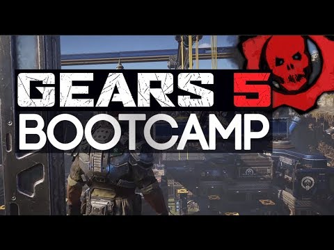 GEARS 5 Gameplay - Bootcamp Preview, Tech Test Information (Gears Of War 5)