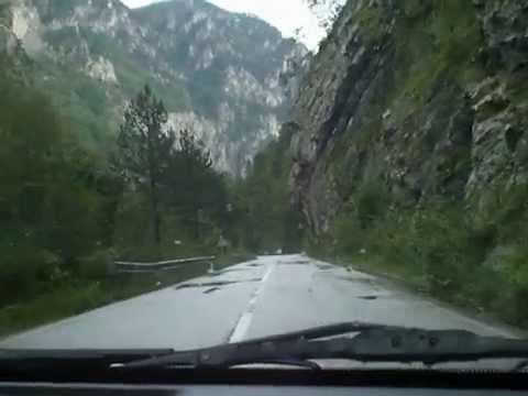 Покрай каньона на река Тара /Черна гора/. - YouTube