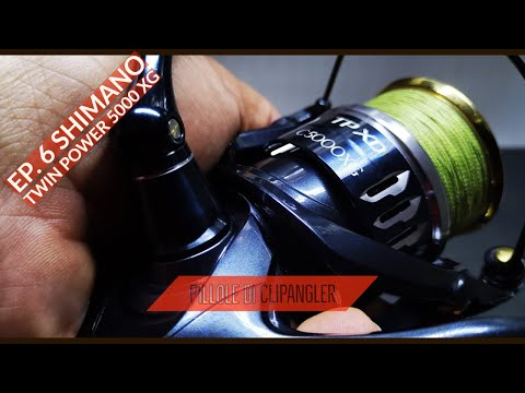 I miei mulinelli da SPINNING - Ep.6 - SHIMANO TWIN POWER 5000 XG JAPAN spinning reel - clipangler