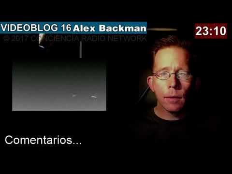 ALEX BACKMAN VIDEOBLOG 016   LO QUE TRAIGO EN EL CO❤️RAZON 23 OCT 2017 (Versión Corregida)