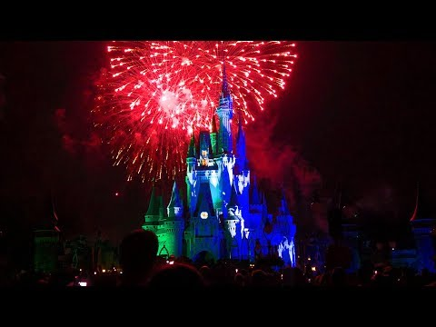 Happy HalloWishes Fireworks HIGHLIGHTS at Mickey's Not-So-Scary Halloween Party 2018