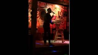 """(Jamie McMahon) me singing hallelujah- justin timberlakes version at """"the block"""" karaoke bar."""
