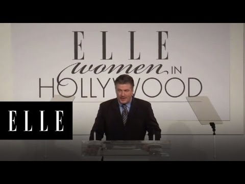 Alec Baldwin - Women in Hollywood - ELLE