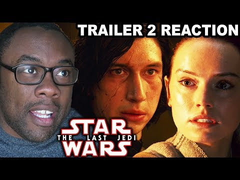 STAR WARS The Last Jedi Trailer 2 Reaction - Rey Joins the Dark Side???
