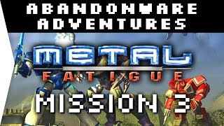 Metal Fatigue Mission 3 ► RTS from 2000 - [Abandonware Adventures!]