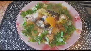 "Корейский суп ""Тинган""из селедки"
