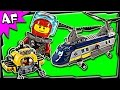 Lego City Deep Sea Helicopter60093 Stop Motion Build Review