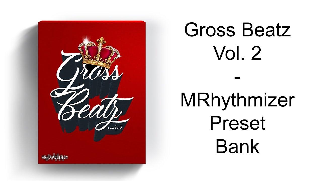 👑 Gross Beatz Vol  2 - MRhytmizer Preset Bank | Beat Maker