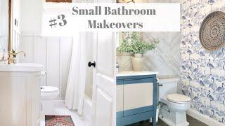 Small Bathroom Makeover | Interior Design