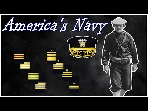 Rank Structure Of The US Navy In World War One | Structure