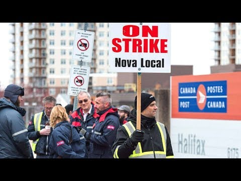 Senate passes back-to-work bill to end Canada Post strikes