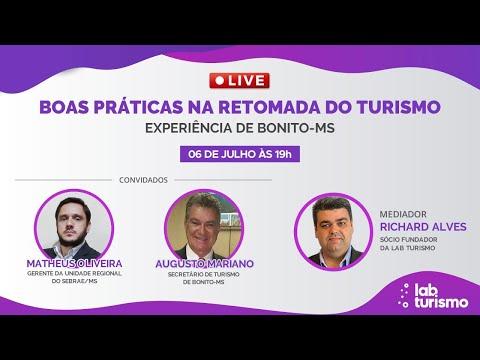 LIVE - Boas Práticas na Retomada do Turismo - Bonito/MS