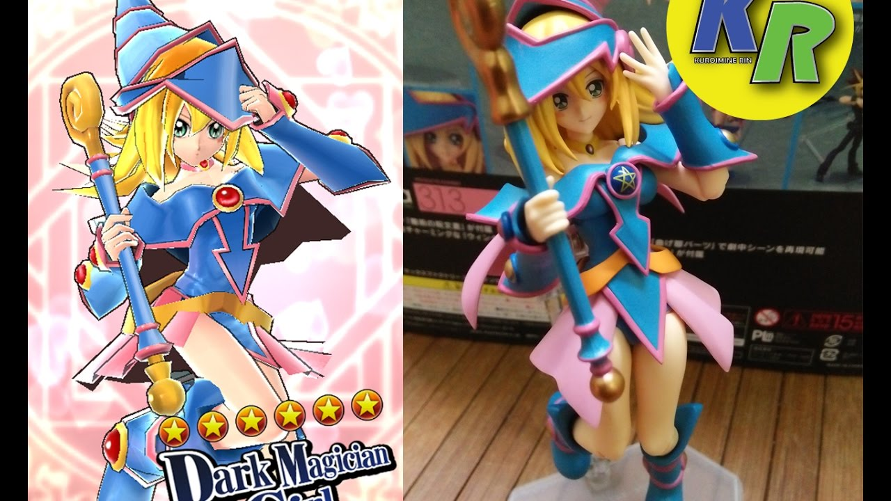 Unboxing Figma Black Magician Girl Dark Magician Girl -1573