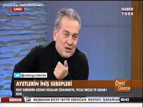 Zülkarneyn ve  Yecüc - Mecüc üzerine (Prof. Dr. Mustafa Öztürk)