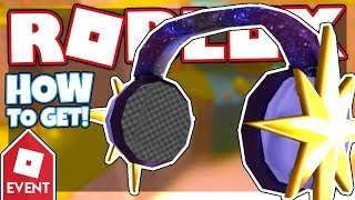 [EVENT] How to get the NORTH STAR HEADPHONES | Roblox Parkour Tag