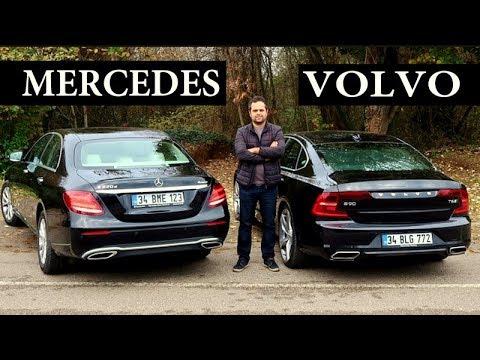 Volvo S90 Vs Mercedes E Serisi - Hangisi?
