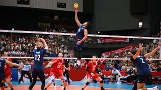 The Most Creative One Hand Sets in Volleyball History (HD)