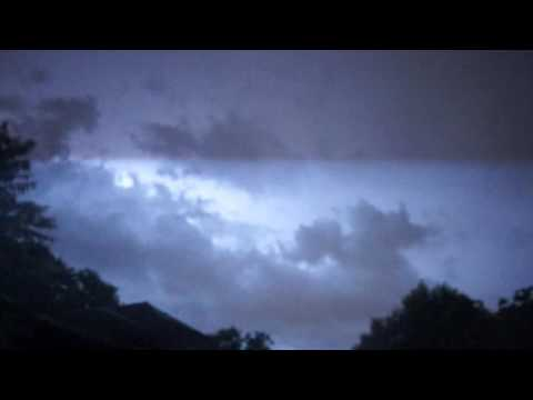 Austin TX lightning time lapse 05-27-16