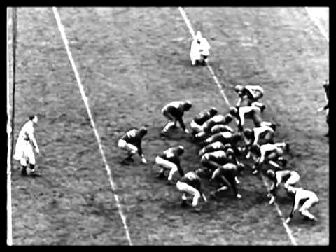 Columbia Upsets Stanford in Rose Bowl, 7 - 0 1934 - YouTube