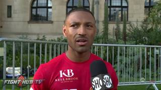 "Kell Brook ""It took me my whole career to get that title I'm not just giving it up!"""