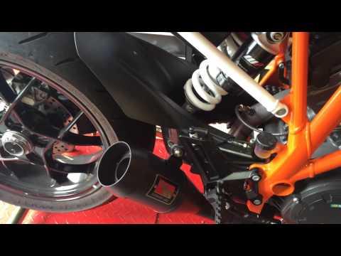 KTM Super Duke 1290 R Competition Werkes Exhaust