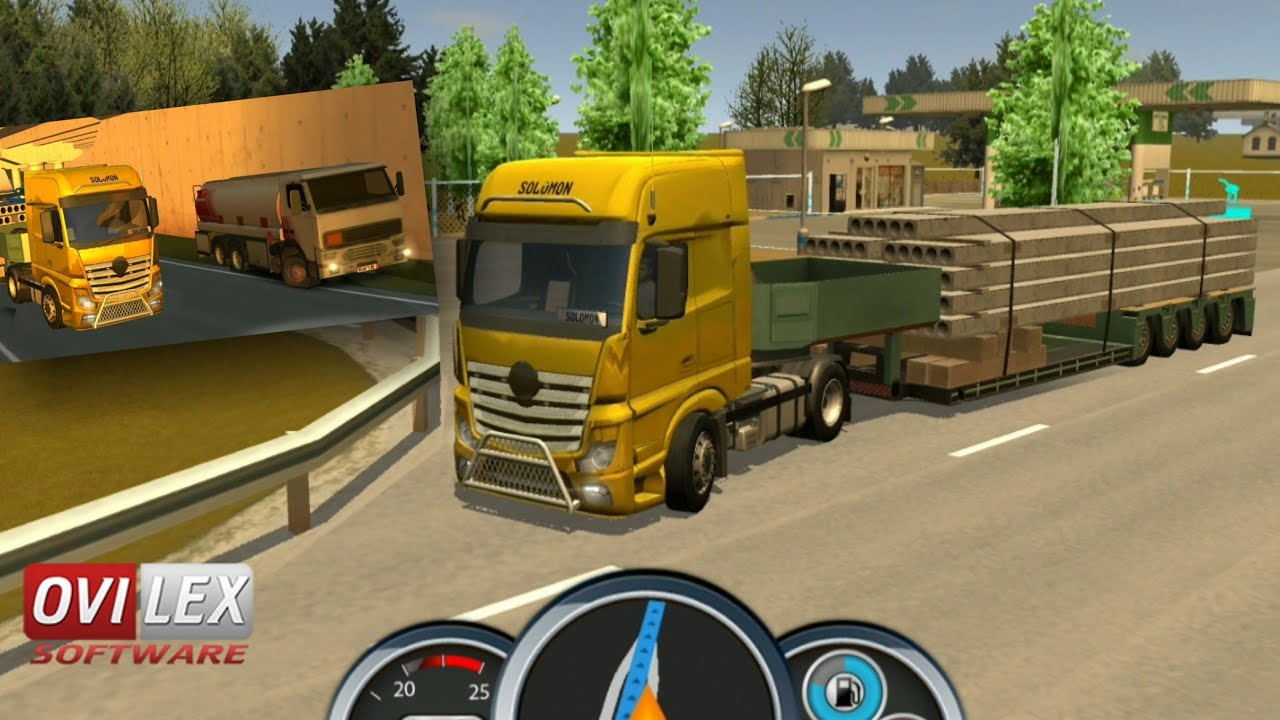 Euro Truck Driver 2018 Update New Trailer New A I More