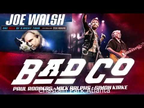 Bad Company & Joe Walsh concert highlights Chastain Park