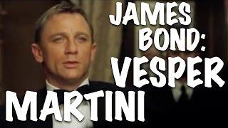 HOW TO MAKE A VESPER MARTINI (James Bond Style)