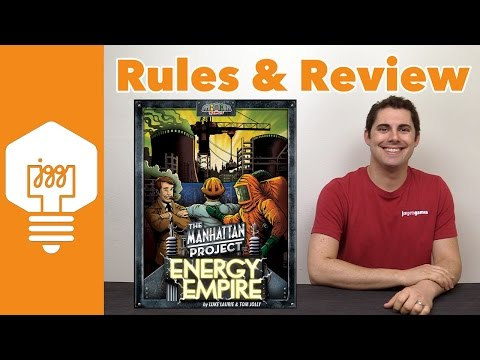Manhattan Project: Energy Empire Review - JonGetsGames