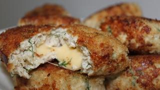 Куриные котлеты с сыром ♥ простые и очень вкусные