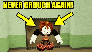 NEVER CROUCH AGAIN with THIS TRICK | Roblox Piggy Glitch