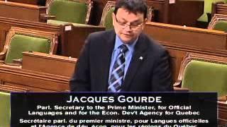 Débat d'ajournement DEC Lac Mégantic 27 nov 2013