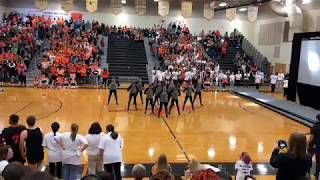 PHS Homecoming Pep Rally Indianettes 2018