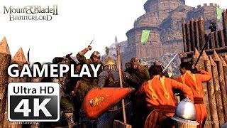 Mount & Blade II Bannerlord : Siege Defence Gameplay 4k Gamescom 2016