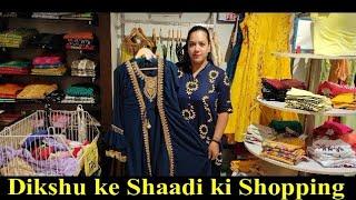 Himachal wala Sister ke Shaadi ki Shopping🛍️💸