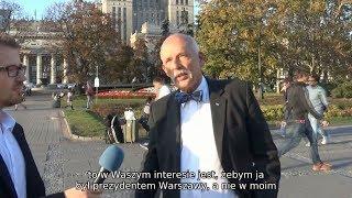 Mają Państwo szansę, żeby mieć dobrego prezydenta Warszawy - Janusz Korwin-Mikke