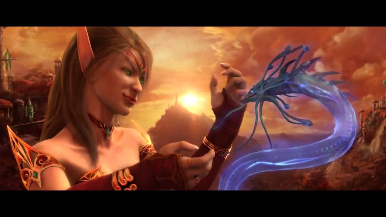 魔獸世界:燃燒的遠征 片頭動畫 (英文語音/中文字幕) - YouTube
