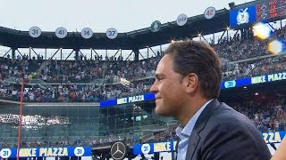 COL@NYM: Mets celebrate Piazza with number retirement