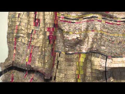 Artist Julianne Swartz on El Anatsui's Duvor (communal cloth)