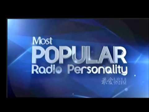 Most Popular Radio Personality/ Love 97.2/ Hong Sheng An