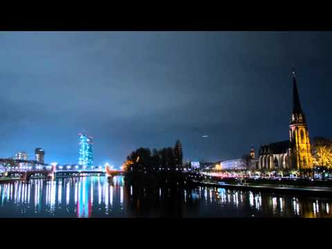 The European Central Bank in Frankfurt (Germany) [Time-lapse Photography]